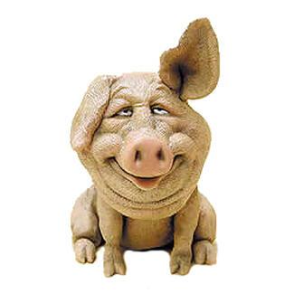 Pig Bobblehead