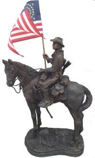 Buffalo Soldier Statue