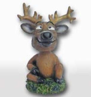 Small Deer Bobblehead