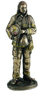 Fireman Statue (Female)