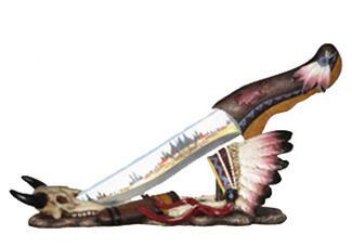 Buffalo Spirit Indian Knife