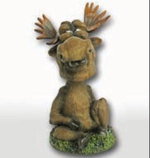 Small Moose Bobblehead