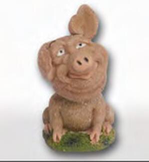 Small Pig Bobblehead
