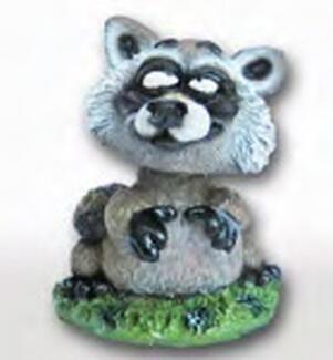 Small Raccoon Bobblehead