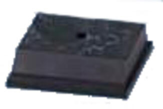 Black Marble Alamar (Plastic) Base