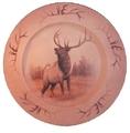 Elk Canvas Look Plate