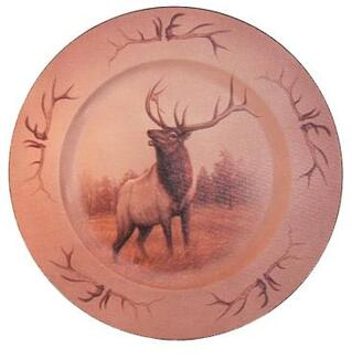 Elk Canvas Look Plate