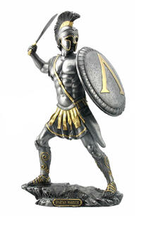 Spartan with Sword (Silver)