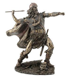 Viking Warrior Throwing Spear