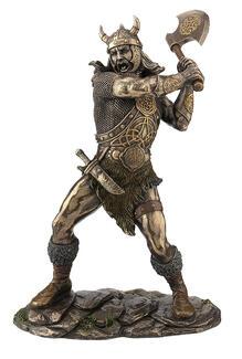 Viking Warrior Swinging Axe