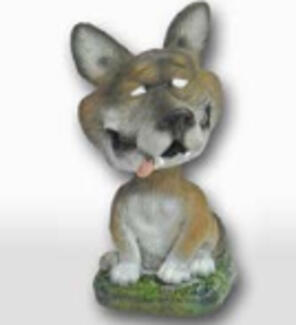 Small Wolf Bobblehead