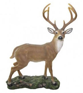 "Large Deer Standing ""Woodland Monarch"""